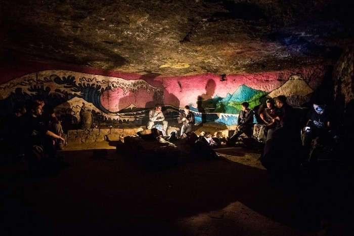 Катафилы – пираты парижских катакомб, увлечённые литературой