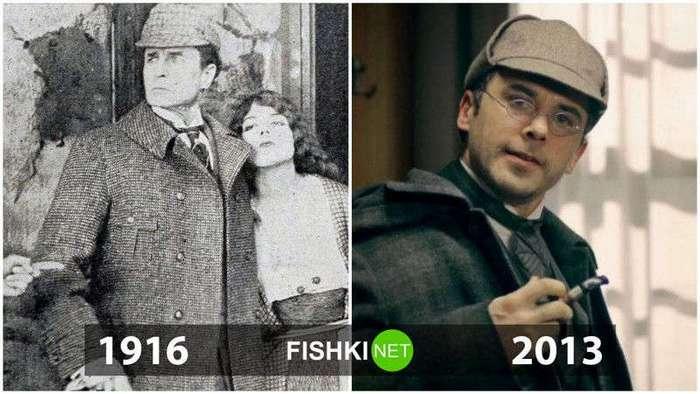 Киногерои: тогда и сейчас