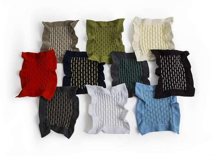 Коллекция мебели из тянущейся ткани от Бенджамина Хьюберта