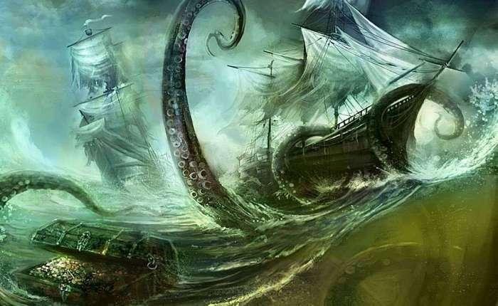 Кракен: реальный ужас из глубин