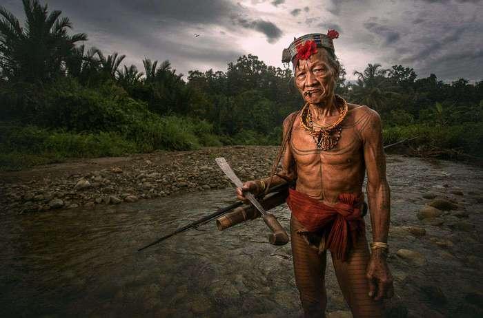 Красивые и загадочные фото дикого племени