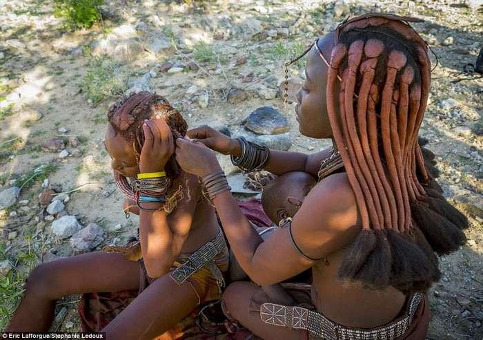 Красивое племя Химба из Намибии