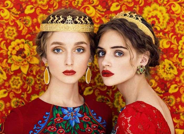 Красота славянская: яркие портреты девушек от российских фотографов