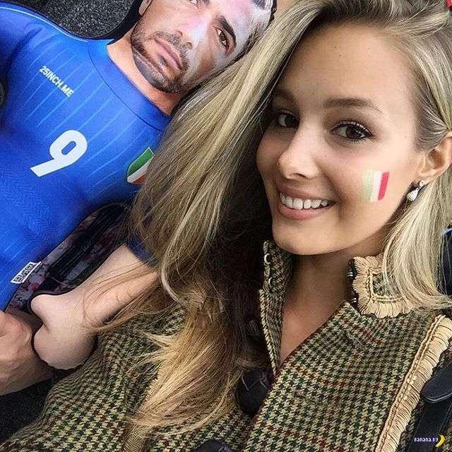 Красотки с трибун EURO-2016
