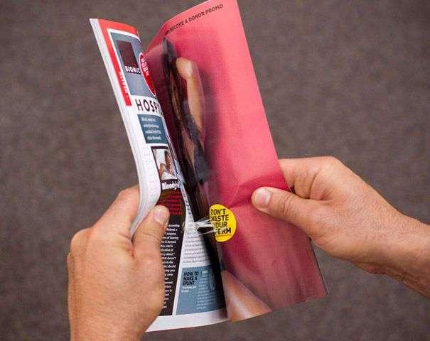 Креативная реклама в журналах