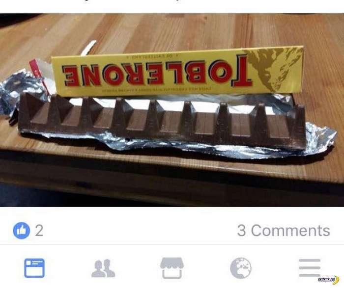 Кризис ударил по шоколадкам