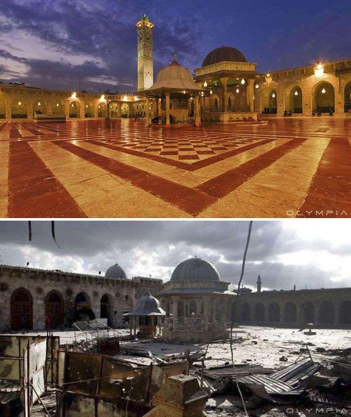 Крупнейший город Сирии до войны и сейчас