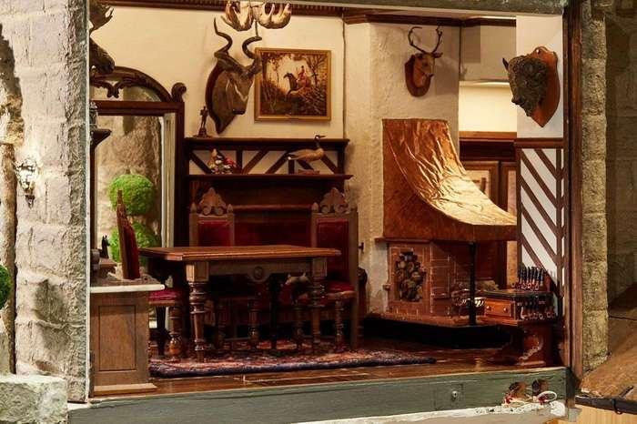 Кукольный домик за $8,5 млн: роскошное искусство миниатюры