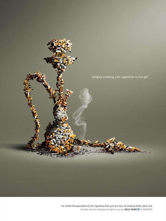 Курение убивает: примеры самой шокирующей антитабачной рекламы