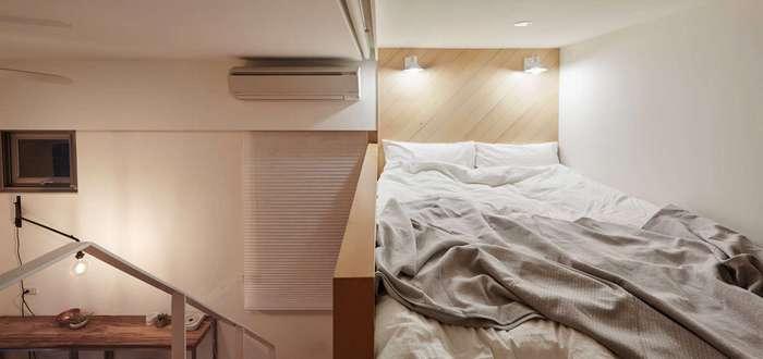Квартира площадью 22 квадратных метра в Тайбэе
