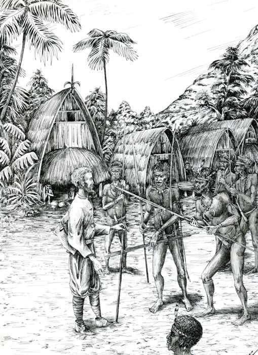 «Лунный человек» Миклухо-Маклай: как жилось этнографу с дикими аборигенами