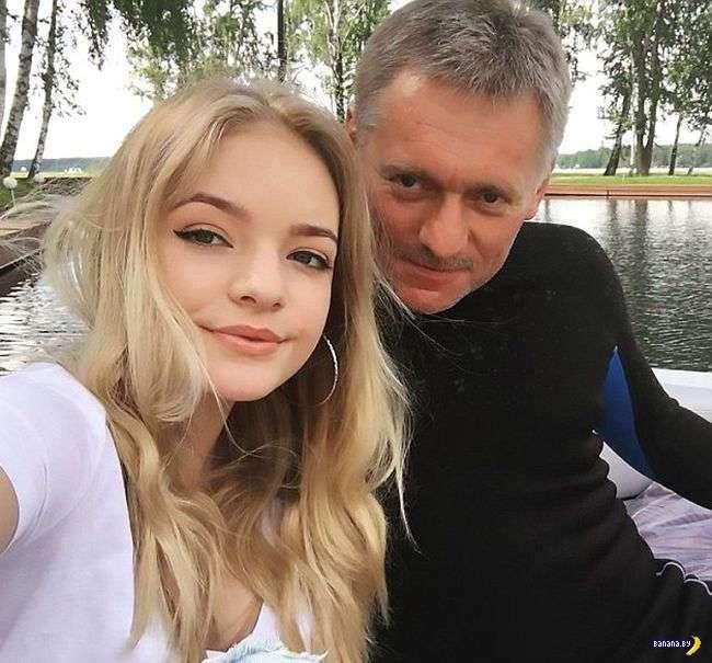 Лиза Пескова –дочь пресс-секретаря Путина