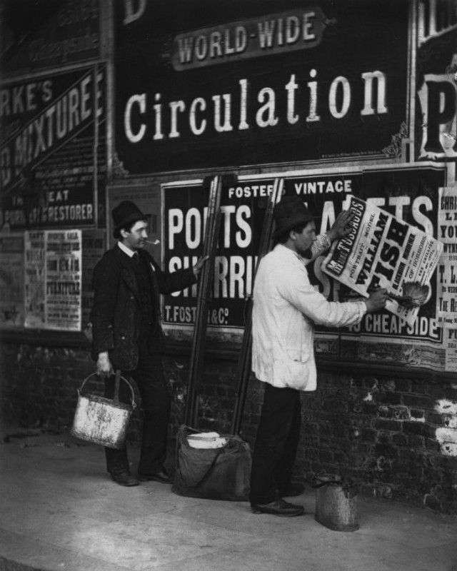 Беспроглядная нищета на улицах Лондона в 1873-1877 годах