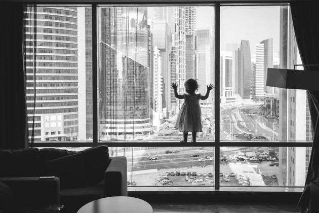 Лучшие черно-белые фотографии детей