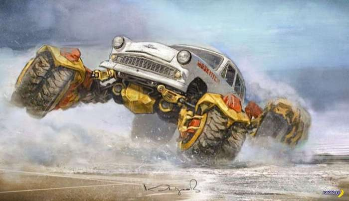 Машинки Данияра Кдырова