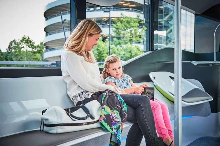 Mercedes-Benz продемонстрировал беспилотный автобус завтрашнего дня