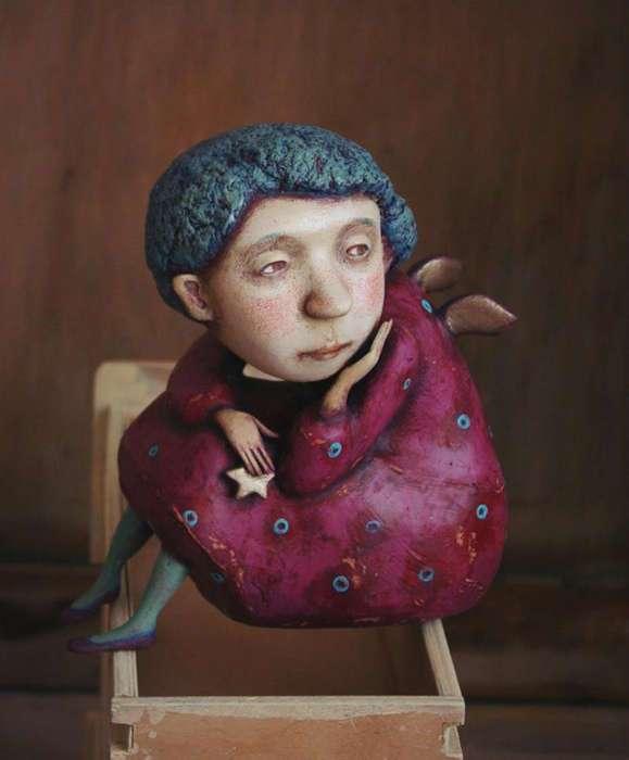 Милые жители севера: забавные и трогательные куклы от художницы из Новосибирска