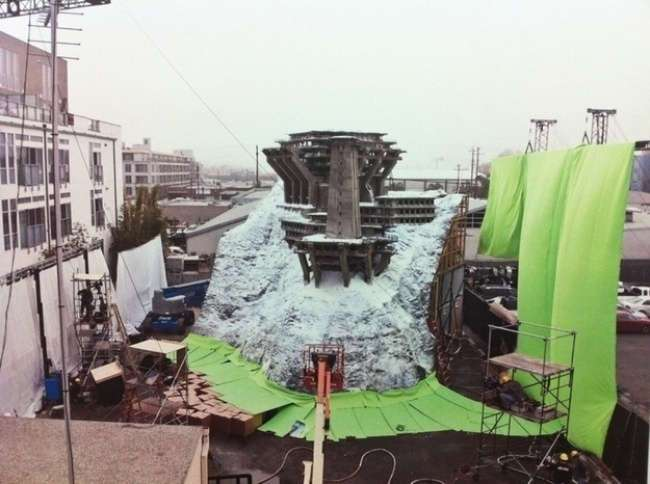 Минидекорации, построенные для 13 знаменитых фильмов