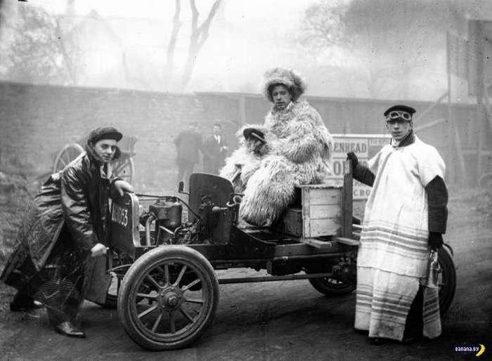 Мода первых автомобилистов