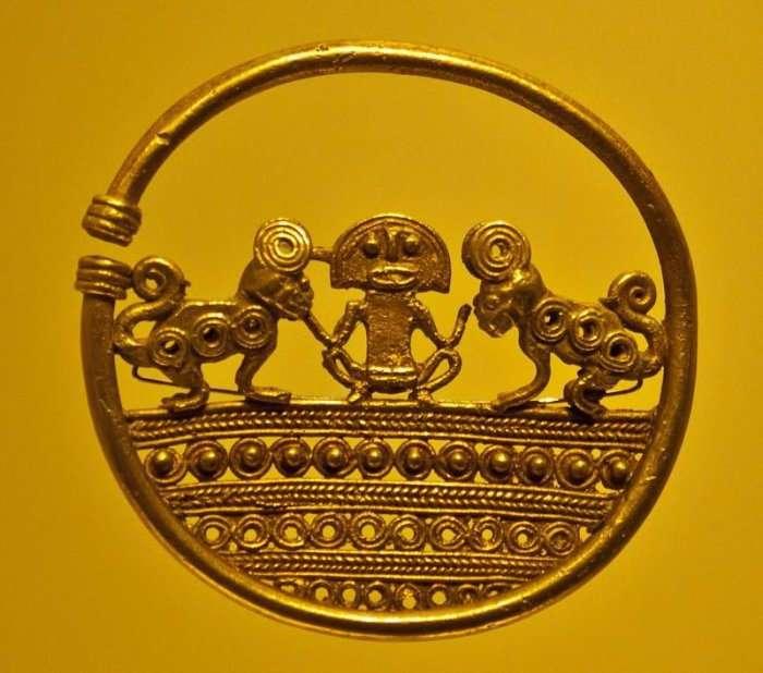 Музей золота в Боготе