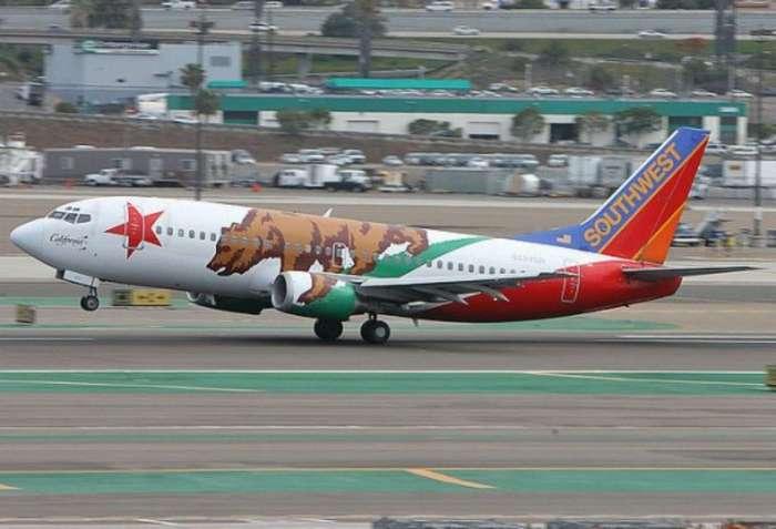 На таких самолётах и летать веселее