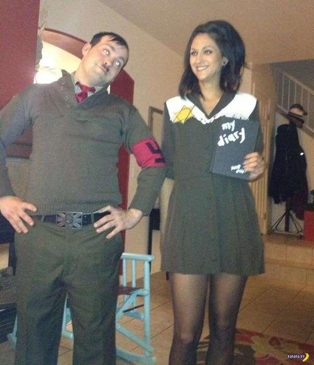 Не все костюмы на Хэллоуин одинаково смешные