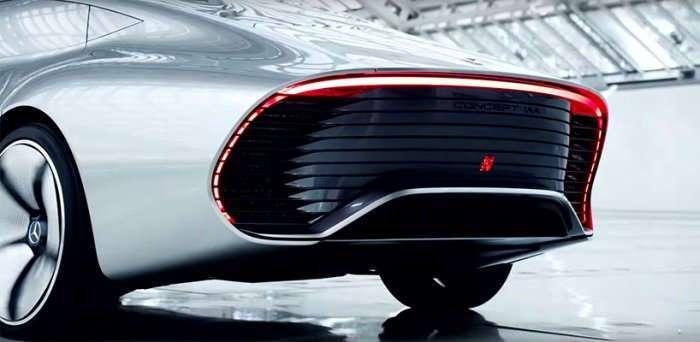 Немцы готовят к выпуску конкурента Tesla — электромобиль Mercedes EV