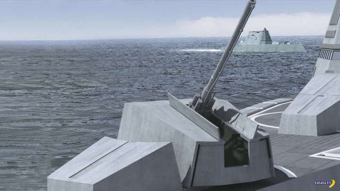 Неожиданная проблема у USS Zumwalt