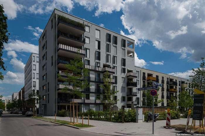 Новые районы Мюнхена. Хотели бы так жить?
