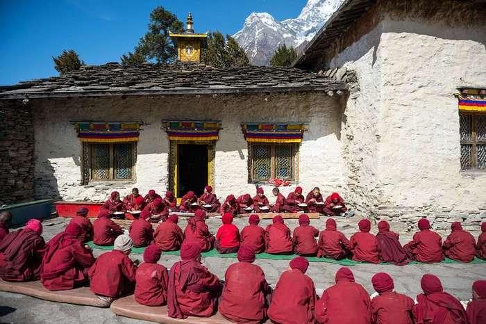 Общепит по-буддистски