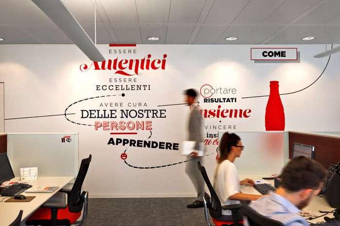 Офис Coca-Cola в Италии