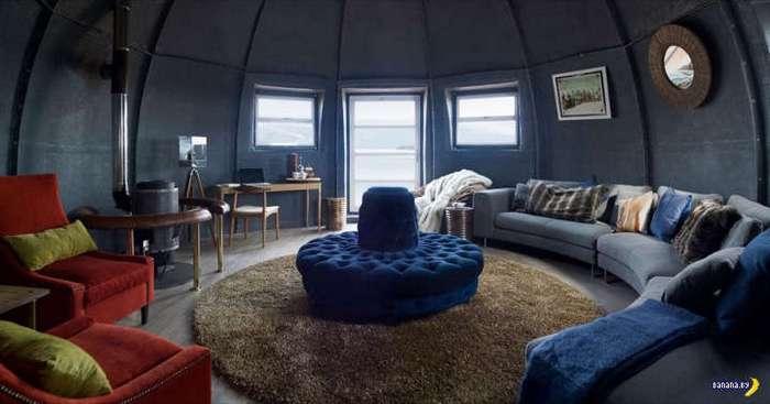 Отель в Антарктике