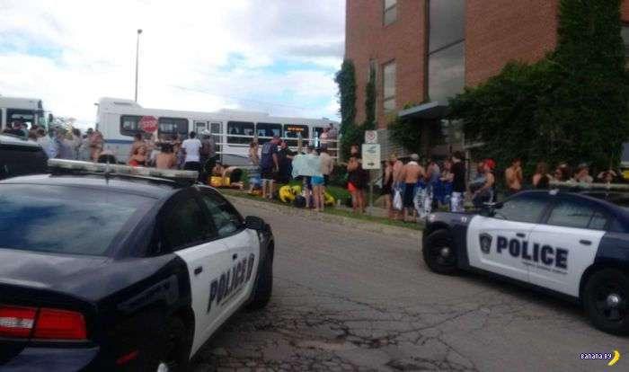 Пьяные американцы пытались захватить Канаду