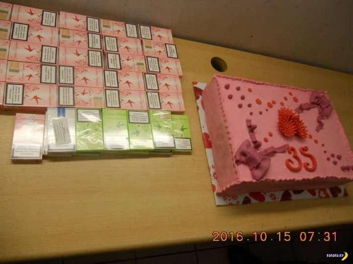 Подозрительный торт из Беларуси