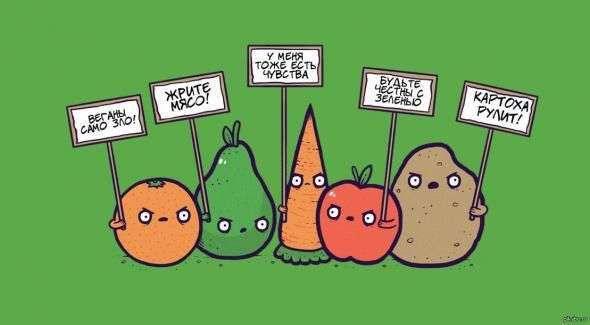 Подводные камни вегетарианства