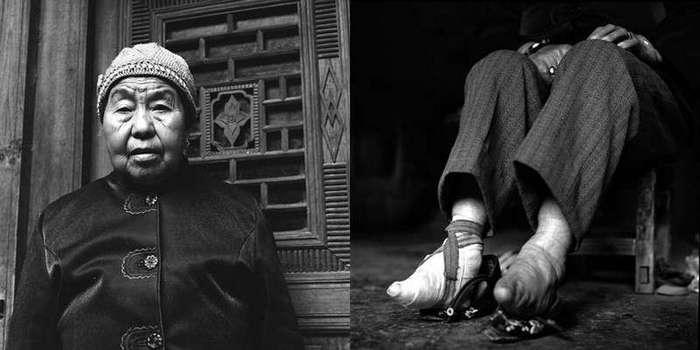 Последние китаянки с «лотосовыми ножками»