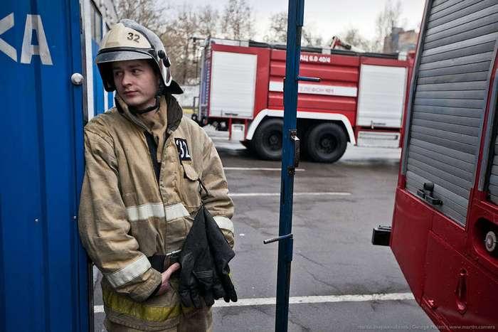 Пожарная часть изнутри