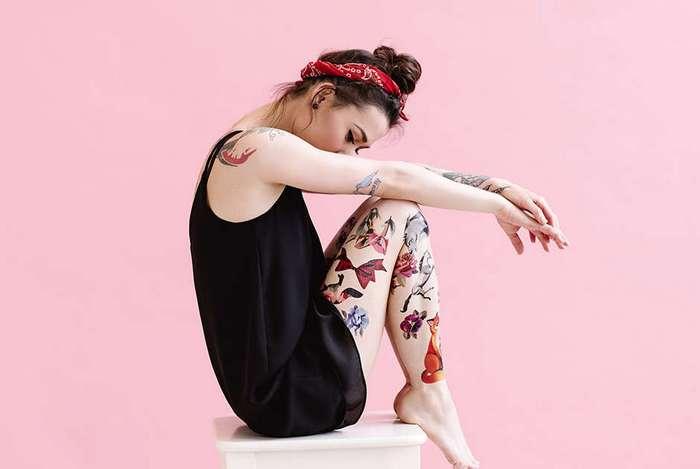Писаные красавицы Кто создает моду на нетрадиционные татуировки и к чему это уже привело