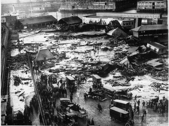 Природные и техногенные катастрофы, подзабытые человечеством
