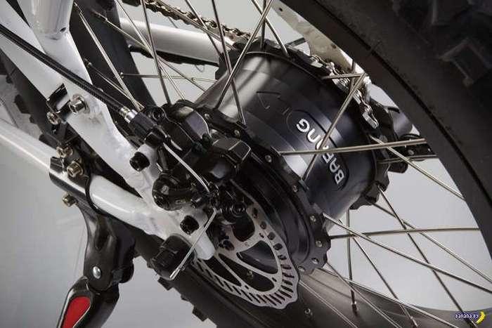 Раскладной электрический велосипед RadMini