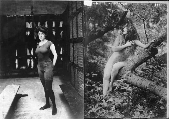 Рекорды Ныряющей Венеры: как Аннетт Келлерман впервые в истории кино снялась обнаженной и изобрела синхронное плаванье