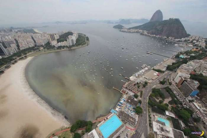 Рио, мусор, грязь