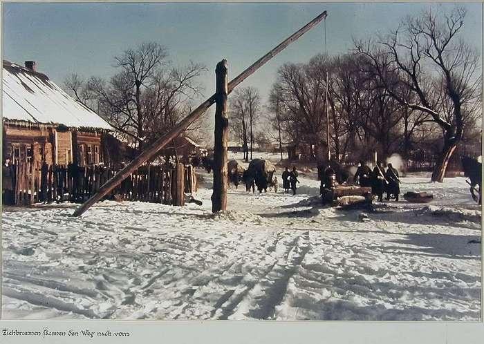 Русская деревня в объективе немецкого солдата