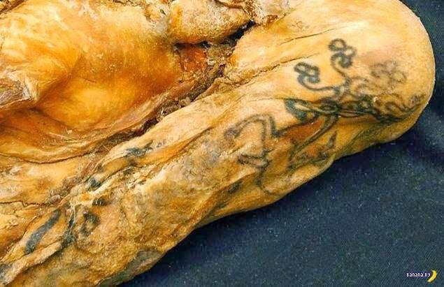 Самая древняя татуировка из сохранившихся