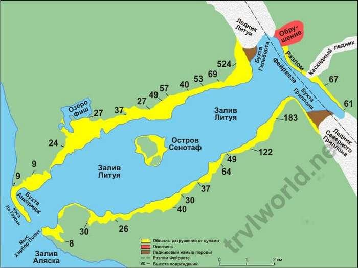 Самая высокая волна цунами за всю историю