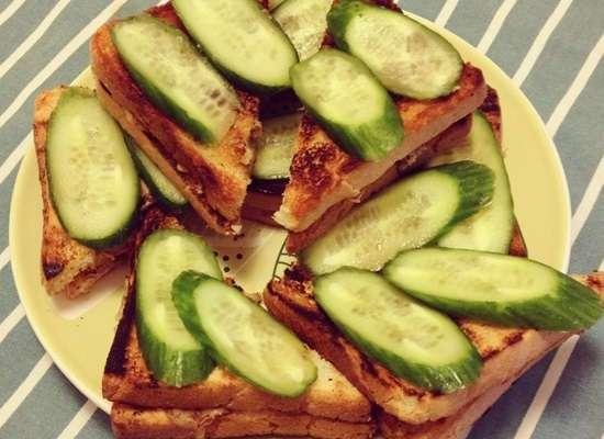 Сэндвич на завтрак: пять простых рецептов