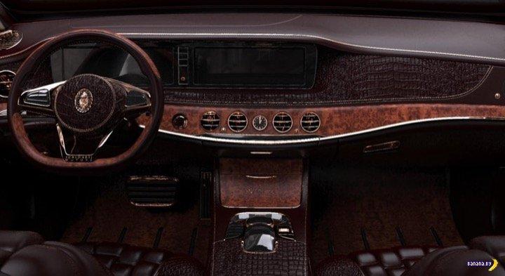 Шейхам радость - Maybach S600 в тюнинге