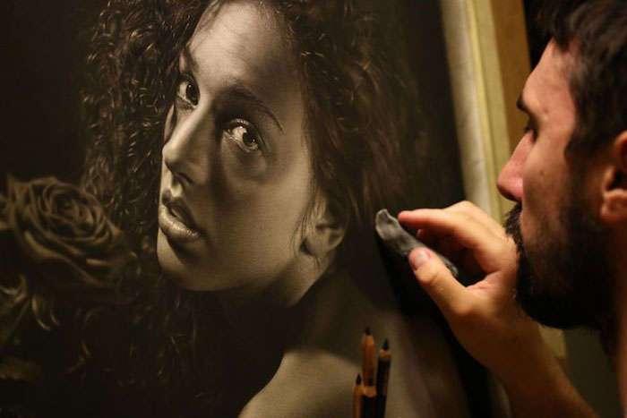 Сотни часов работы и годы обучения: портреты карандашом в стиле мастеров Ренессанса