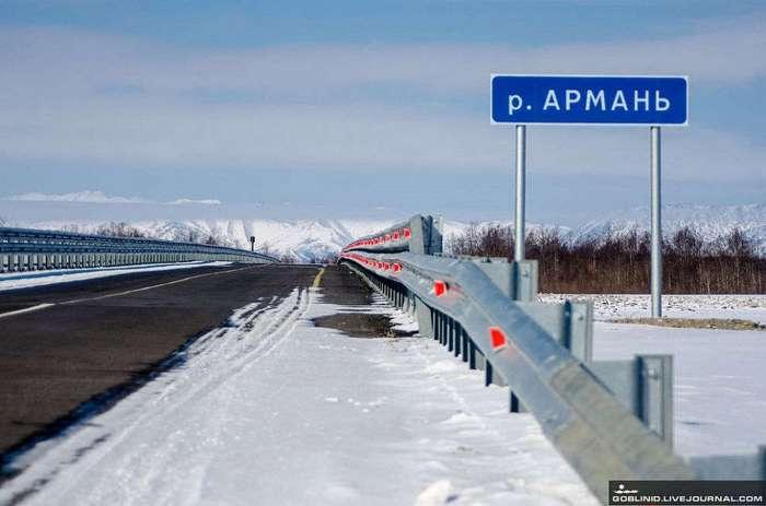 Сравнение дорог на Колыме и в Северной Америке
