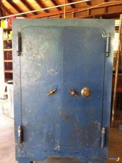 Старый бабушкин сейф и его тайны